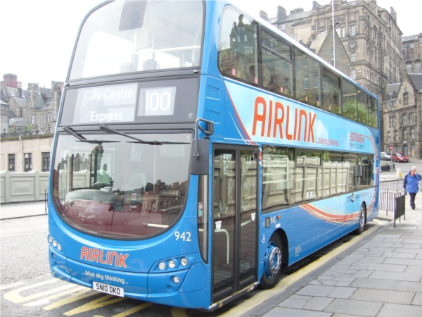 Air Link Express in Edinburgh Airport Shuttle