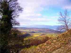 Ausblick vom Stirling Castle in Schottland