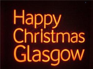 Glasgow Weihnachtsdeko, X-mas