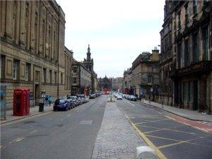 Edinburgh City Centre, Scotland, National Libary