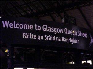 Glasgow Queen Street Rail Station