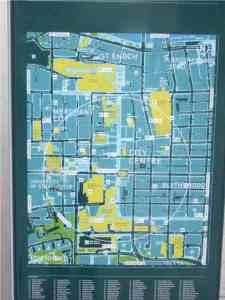 Stadtplan Glasgow