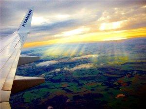 Ryanair Schottland Landeanflug