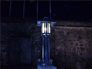 Lighting Stirling Castle, Scotland