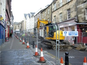 Repairing the Roads of Stirling after the Big Freeze, Scotland