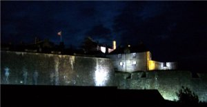 Stirling Castle, Scotland at night