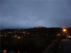 Stirling Castle bei Nacht