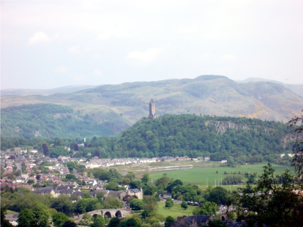 Stirling Castle view to Wallace Monument