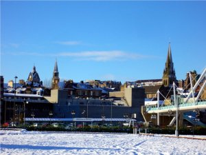 Stirling im Winter 2010