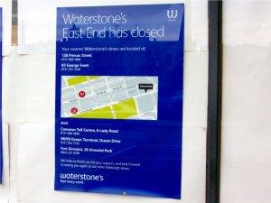 Waterstones Book Shop Edinburgh