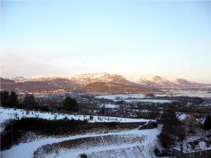 Winter in Stirling, Schottland
