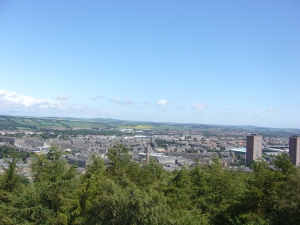 Dundee, Scotland, View from Dundee Law