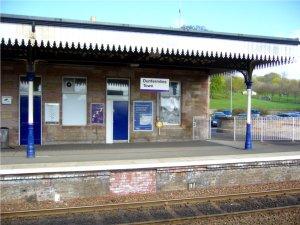Dunfermline Town Rail Station, Scotland