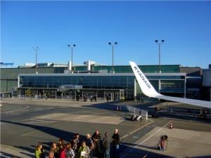 Bremen Airport, Rueckflug nach Schottland