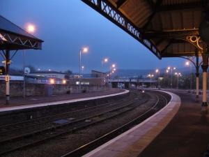 Bahnhof in Perth