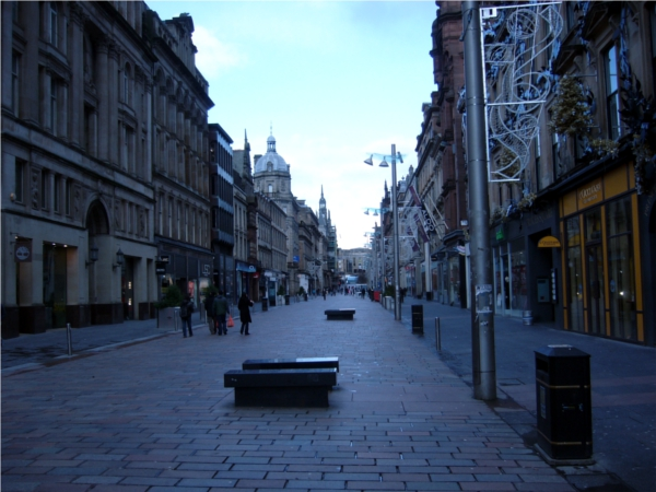 Glasgow city buchanan street