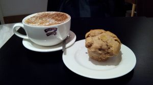 Dairy Free Muffins @ Muffin Break, only in my Cappuccino I prefer milk ;)