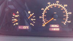 Letzte Aprilwoche in Schottland und Temperaturen unterhalb des Gefrierpunkts